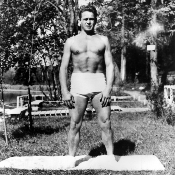 (Photo:) The Pilates technique is named after its German founder, Joseph Pilates.